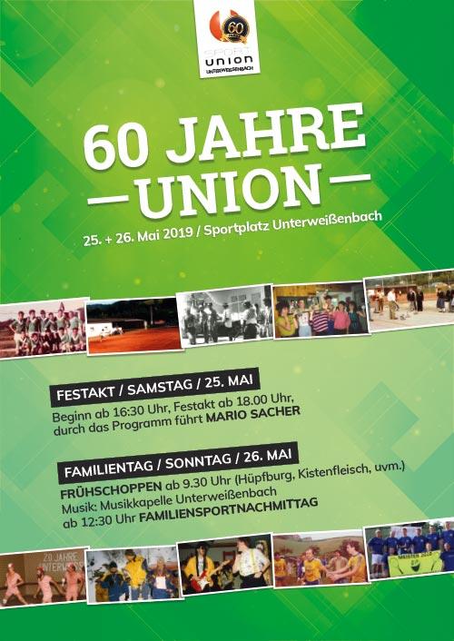 60 Jahre Union Unterweißenbach