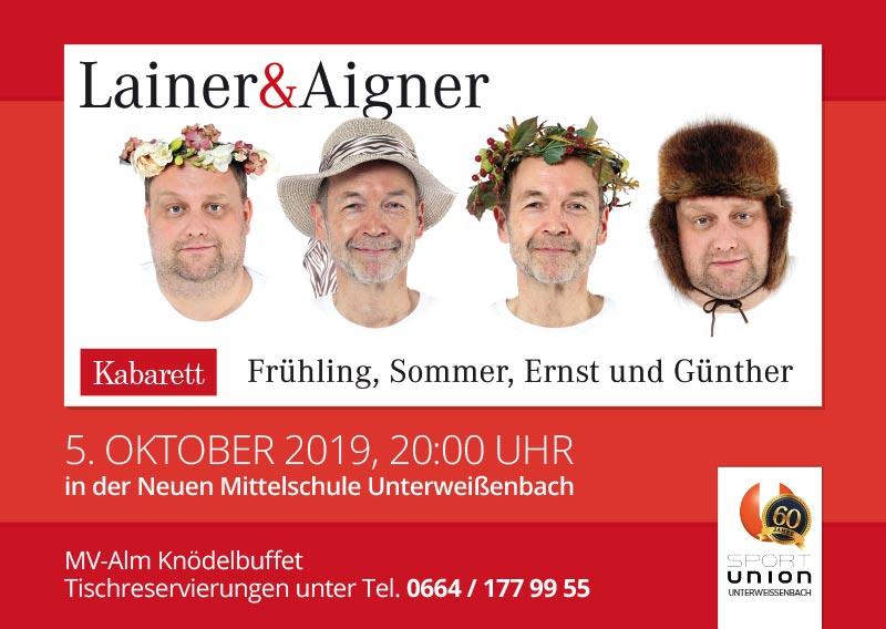 Kabarett - Frühling, Sommer, Ernst und Günther